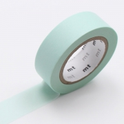 10m Washi Tape 15mm Pastel Mint