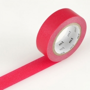 10m Washi Tape 15mm Red