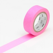 10m Washi Tape 15mm Shocking Pink