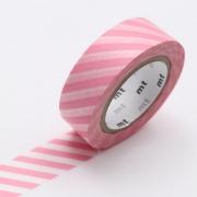 10m Washi Tape 15mm Stripe Sakura