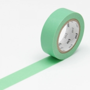 10m Washi Tape 15mm Wakamidori