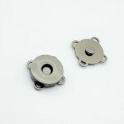 10 Magnetknöpfe schwarz 18mm