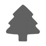 Motivstanzer klein Baum 1,7cm