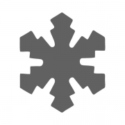 Motivstanzer groß Eiskristall 2,5cm
