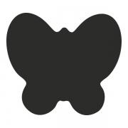 Motivstanzer groß Schmetterling 2,5cm