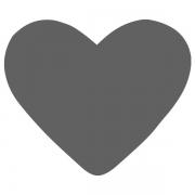 Motivstanzer klein Herz 1,7cm