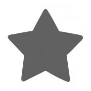 Motivstanzer klein Stern 1,7cm