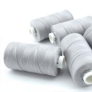 Nähgarn hellgrau Stärke 30 Polyester