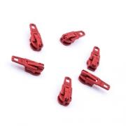Opti Reißverschluss-Schieber 3mm rot Col. 3890