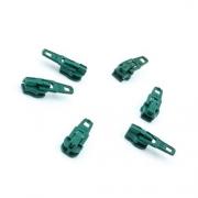 Opti Reißverschluss-Schieber 3mm tannengrün Col. 5104