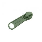 Opti Reißverschluss-Schieber 5mm oliv Col. 5748