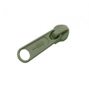 Opti Reißverschluss-Schieber 5mm khaki Col. 5761