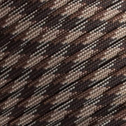 15m Paracord 550 Typ III brown camo blend