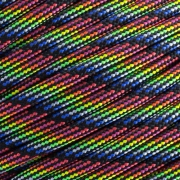 15m Paracord 550 Typ III dark stripes