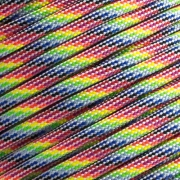 15m Paracord 550 Typ III light stripes