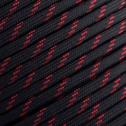 15m Paracord 550 Typ III thin red line