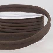 Paspelband schwarzbraun 5mm