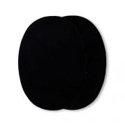 Prym Patches Velourslederimitat, aufbügelbar, 10 x 14cm, schwarz 929370