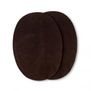 Prym Patches Velourslederimitat, aufbügelbar, 10 x 14cm, dunkelbraun 929373
