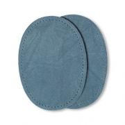 Prym Patches Velourslederimitat, aufbügelbar, 10 x 14cm, mittelblau 929379