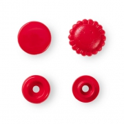 Prym Color Snaps 13,6mm - 21 Stk. Blume, rot 393438