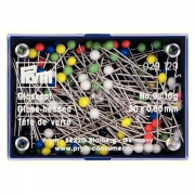 Prym 10g Glaskopf-Nadeln 30x0,60 bunt 029129