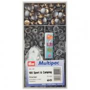 Prym Multipac Druckknöpfe Sport & Camping 15mm brüniert 390240