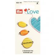Prym handmade Pins gelb 3 Stück 403741