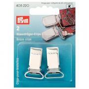 Prym Hosenträger-Clips 18 mm 405220
