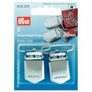 Prym Hosenträger-Clips 30 mm 405224