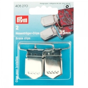 Prym Hosenträger-Clips 35 mm 405270