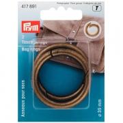Prym Taschenringe 35mm altmessing 417891