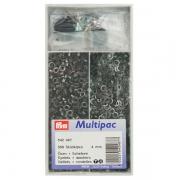 Prym Ösen mit Scheiben brüniert Multipac 4mm 542487
