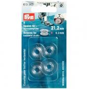 Prym Nähmaschinenspulen für Horizontalgreifer 21,2mm 610363