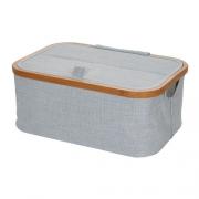 Prym Box Canvas & Bamboo faltbar grau 612681