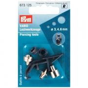 Prym Lochwerkzeuge für vario-Zange 3+4+8mm 673125