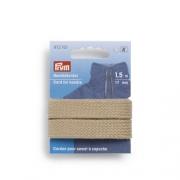 Prym Hoodiekordel beige 17mm 972701