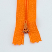 10 Reißverschlüsse orange 20cm
