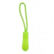 Reißverschlussanhänger hellgrün 5 Stück