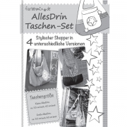 AllesDrin-Taschen-Set, Schnittmuster