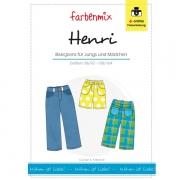 HENRI, Basic-Jeans, Schnittmuster