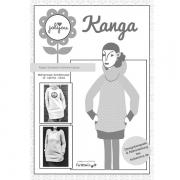 Kanga - Raglan-Sweater, Papierschnittmuster