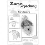MiniBasics: Body, Shirt, Leggings & Mütze, Schnittmuster