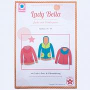 Lady Bella, Sweatjacke, Papierschnittmuster