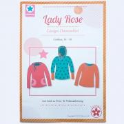 Lady Rose, Damenshirt, Papierschnittmuster