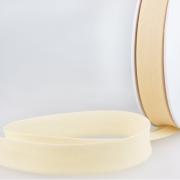 Schrägband creme aus Baumwolle PES 20mm