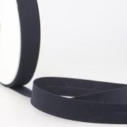 Schrägband dunkelblau aus Baumwolle PES 20mm