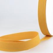 Schrägband senfgelb aus Baumwolle PES 20mm
