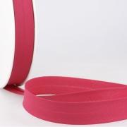 Schrägband pink aus Baumwolle PES 20mm