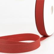Schrägband dunkelorange aus Baumwolle PES 20mm